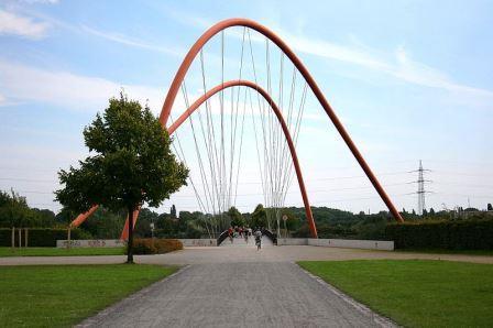 Bild Doppelbogenbrücke Gelsenkirchen