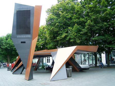 Bild Busunterstand Aachen