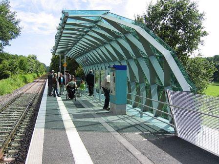 Bild Bahnhof Lichtwiese Darmstadt