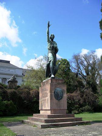 Bild Joseph Görres Denkmal Koblenz