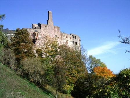 Bild Schloss Oberstein