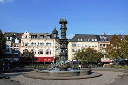Bild Historiensäule Koblenz