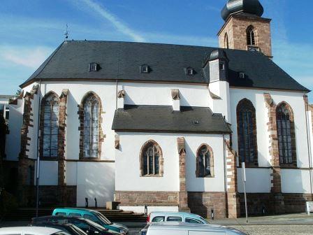 Bild Museum in der Schlosskirche Saarbrücken