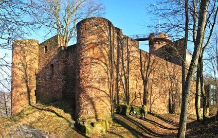 Bild Burg Montclair Mettlach