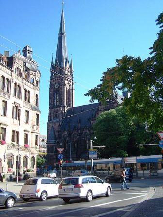 Bild Johanneskirche Saarbrücken