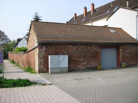 Bild Jüdische Totenhalle Speyer