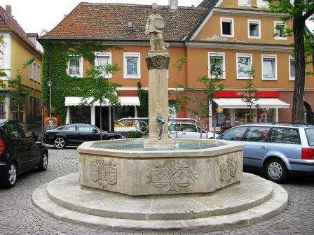 Bild Handwerkerbrunnen Speyer
