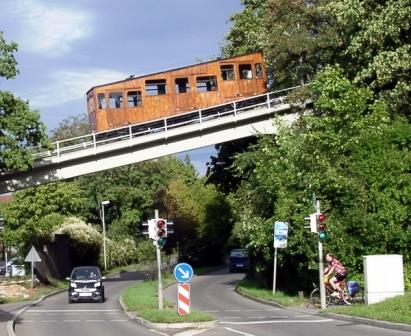 Bild Standseilbahn Stuttgart