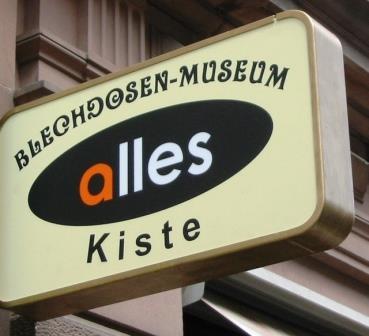Bild Blechdosenmuseum Karlsruhe