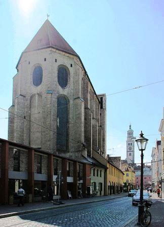 Bild Barfüßerkirche Augsburg