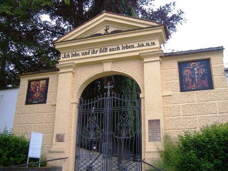 Bild Protestantischer Friedhof Augsburg