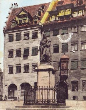 Bild Dürer Denkmal Nürnberg