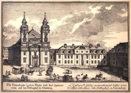 Bild Kirche St. Egidien Nürnberg