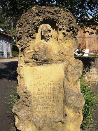 Bild Leo Lendner Denkmal Würzburg
