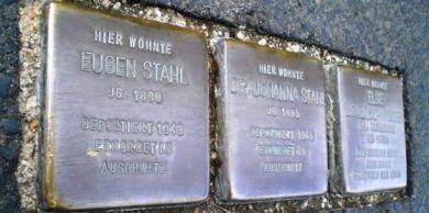Bild Stolpersteine Würzburg