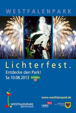 Bild Lichterfest im Westfalenpark Dortmund