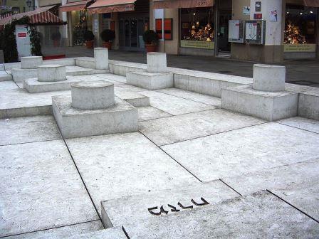 Bild Dani Karavan Denkmal Regensburg