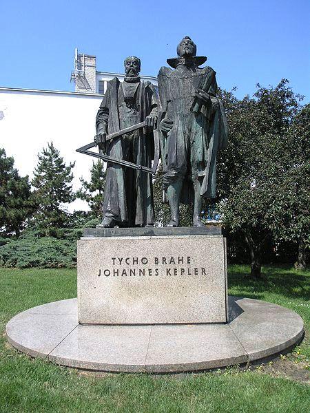 Bild Kepler Brahe Denkmal Prag
