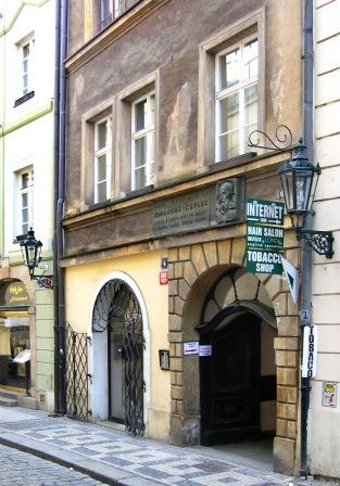 Bild Johannes Kepler Museum Prag