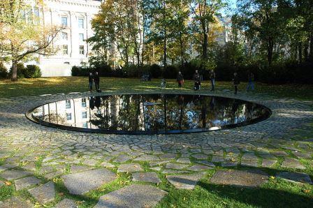 Bild Denkmal für die Sinti und Roma Berlin