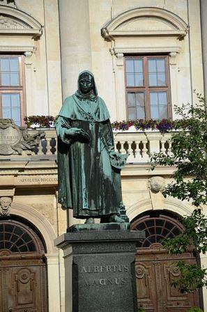 Bild Albertus Magnus Denkmal Lauingen
