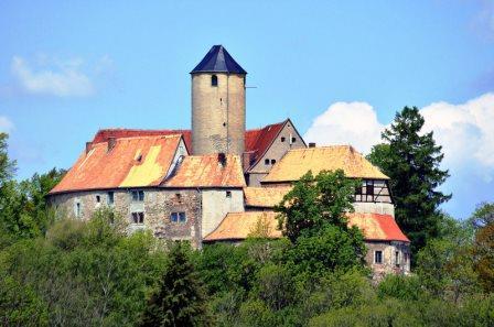 Bild Burg Schönfels Lichtentanne