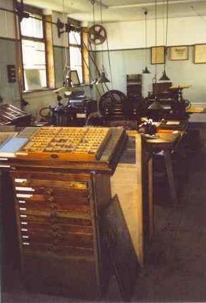 Bild Buchdruckereimuseum Burkhardtsdorf