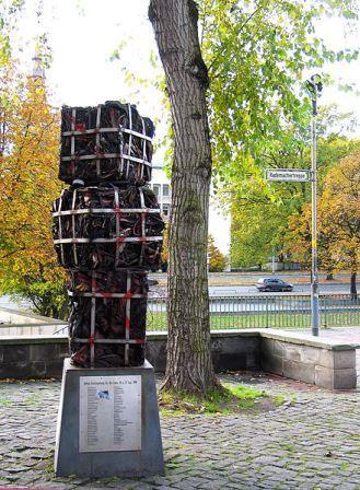 Bild Denkmal für Kurt Schwitters und Karl Jakob Hirsch Hannover