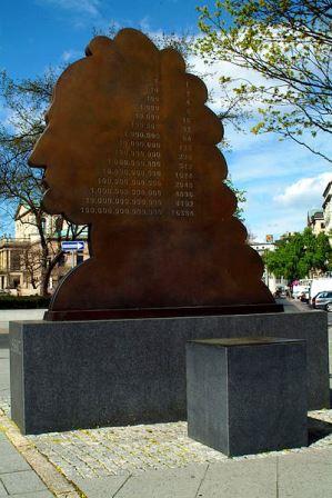 Bild Leibniz Denkmal Hannover