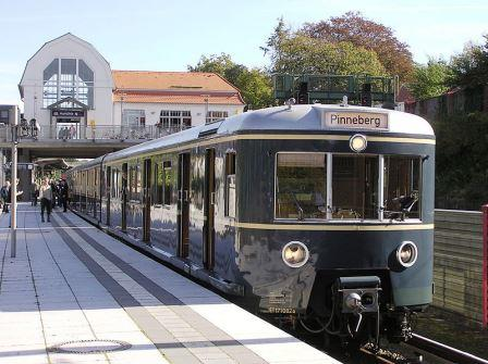 Bild Historische S-Bahn Hamburg