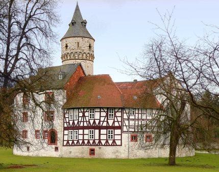 Bild Schloss Oelber am weißen Wege