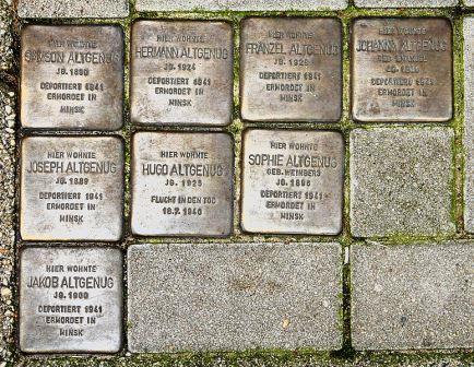 Bild Stolpersteine in Bremen