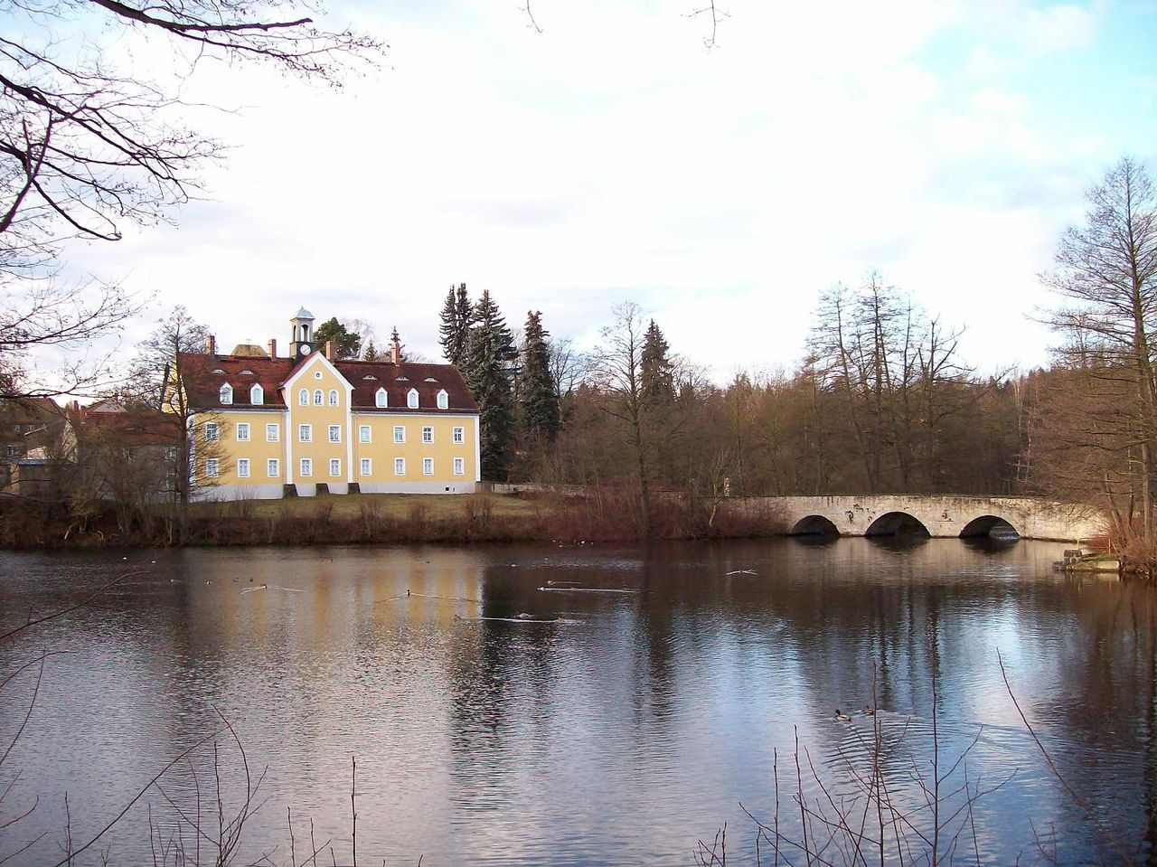 Bild Jagdschloss Grillenburg Tharandt