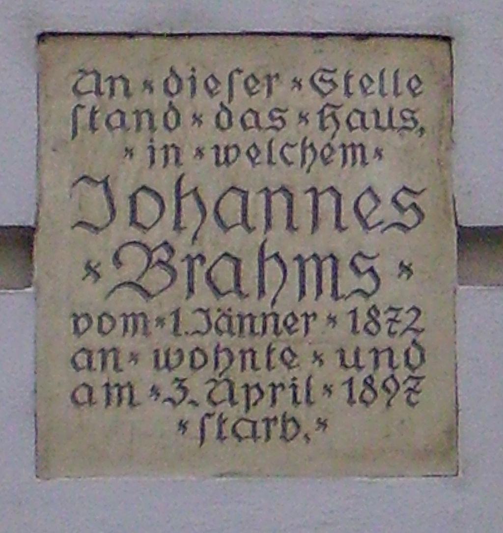 Bild Brahms Haus Heide