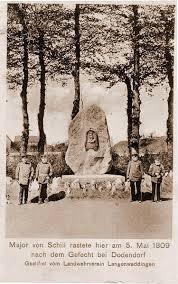 Bild Schill Denkmal Langenweddingen