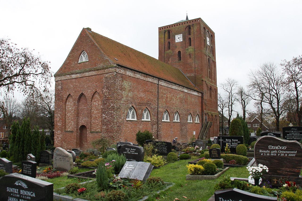 Bild St. Marien Kirche Marienhafe