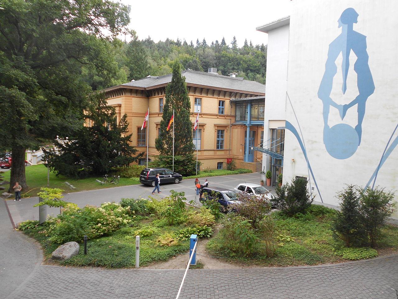 Bild Kurpark mit Kurfürstenquelle Bad Freienwalde