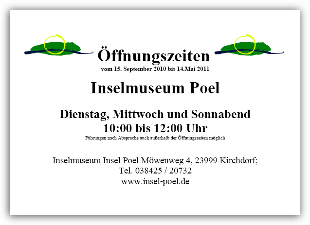 Bild Inselmuseum Poel