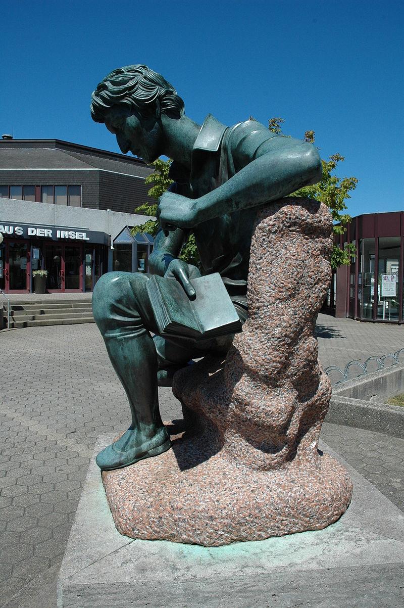 Bild Heinrich Heine Denkmal Insel Norderney