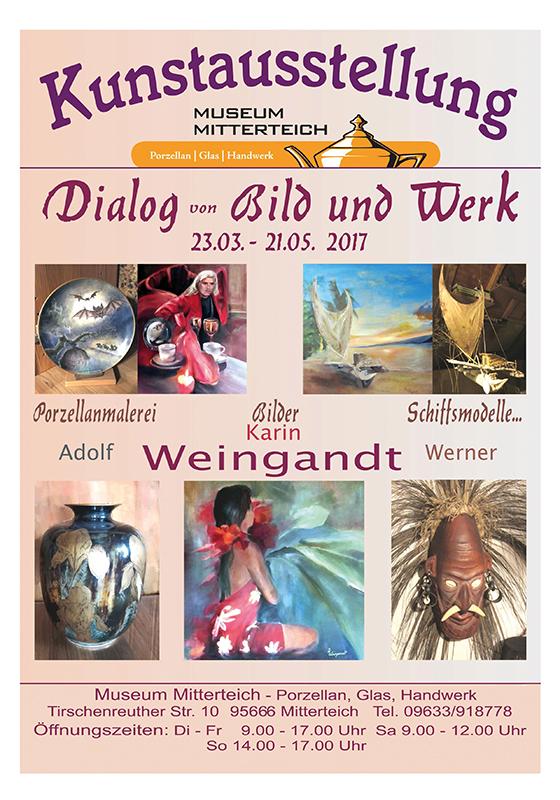 Bild Museum Porzellan Glas Handwerk Mitterteich