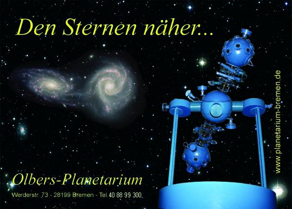 Bild Olbers Planetarium Bremen