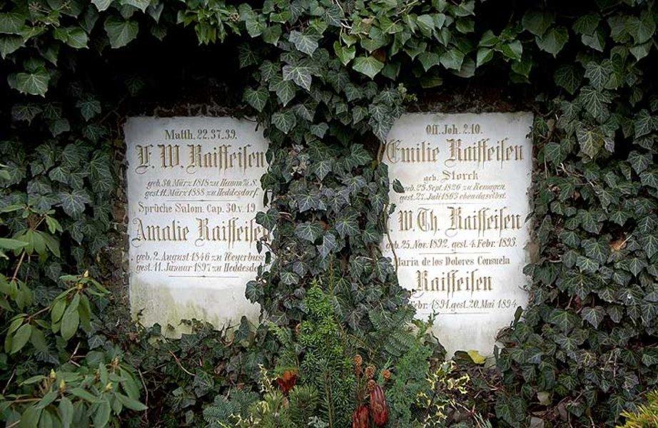 Bild Grabstätte Raiffeisen Neuwied