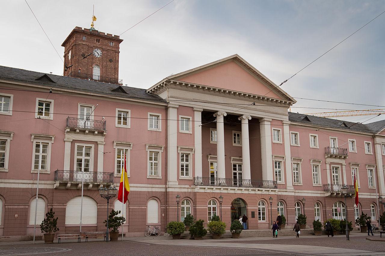 Bild Rathaus Karlsruhe