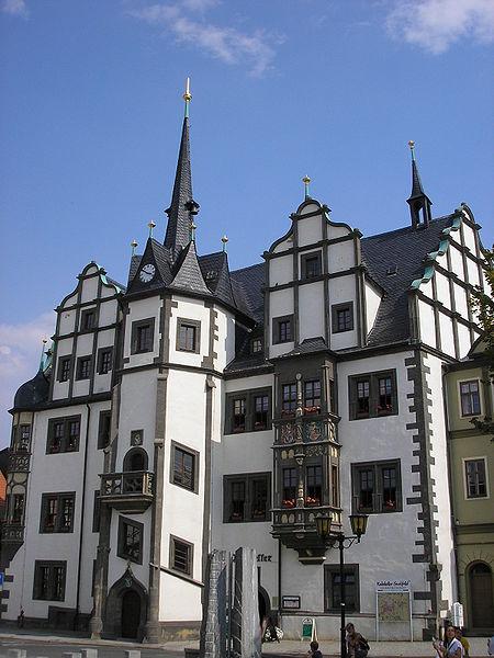 Bild Rathaus Saalfeld