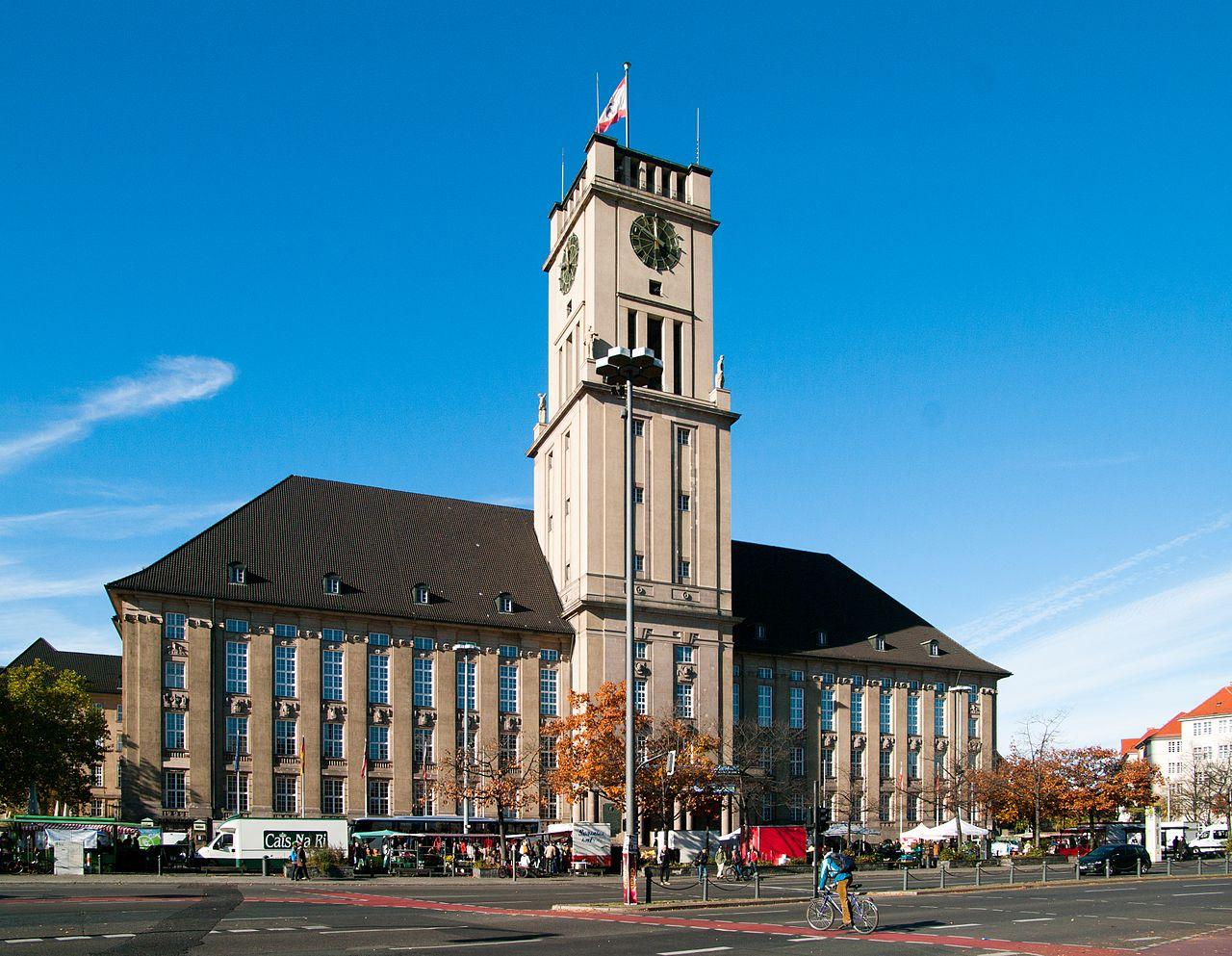 Bild Rathaus Berlin Schöneberg