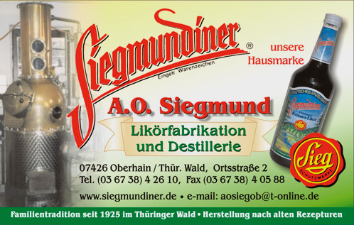 Bild Siegmund Likörfabrik Oberhain