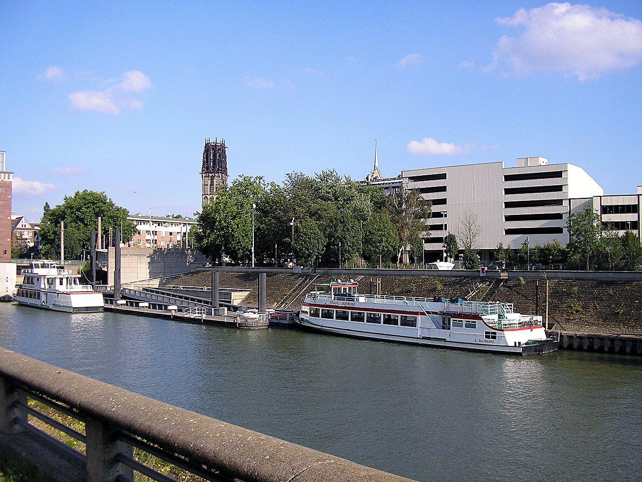 Bild Hafenrundfahrt Duisburg