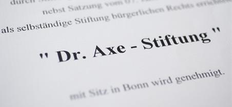 Bild Kunstkabinett der Dr. Axe-Stiftung Dahlem