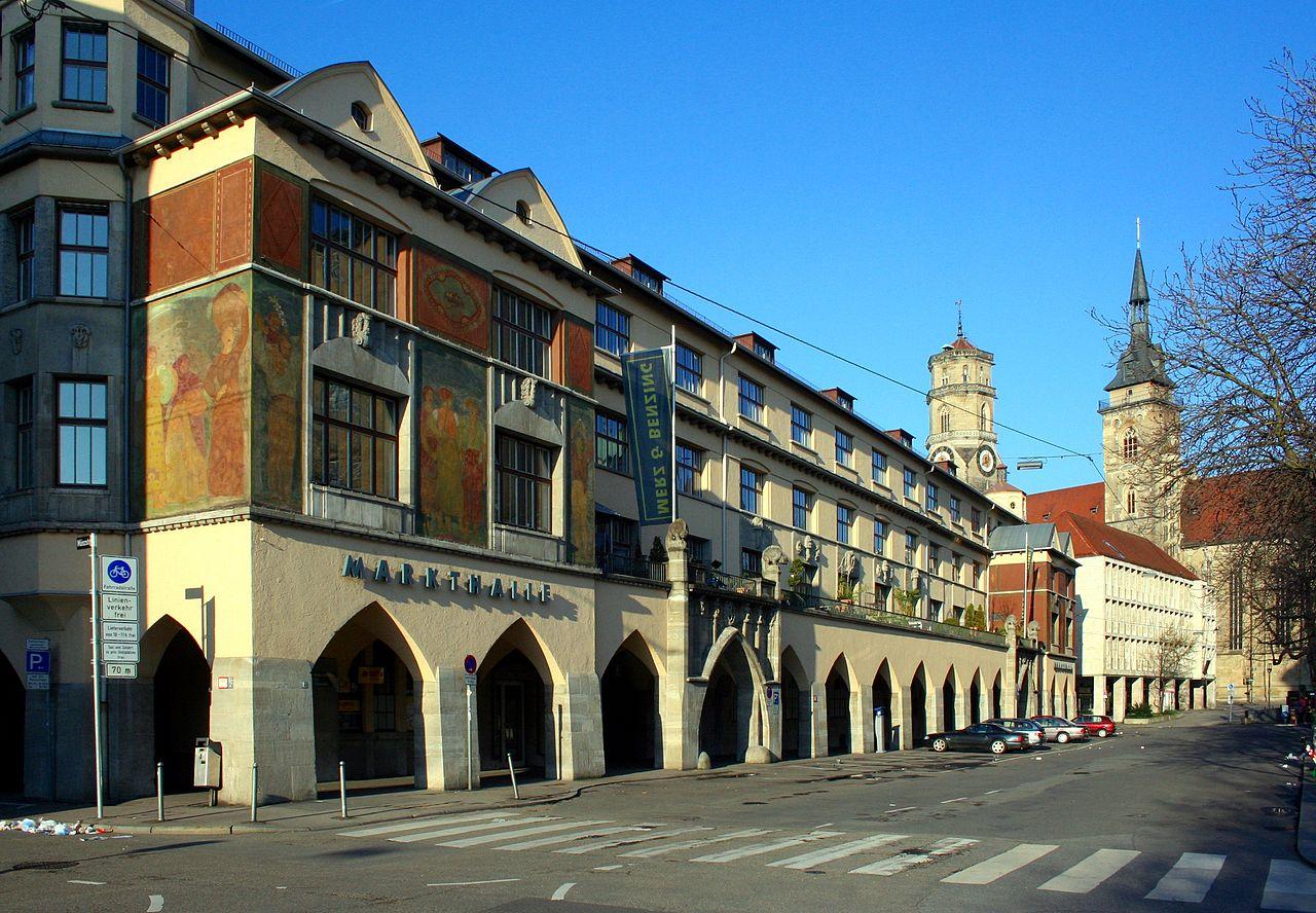 Bild Markthalle Stuttgart