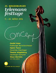 Bild Telemann Festtage Magdeburg